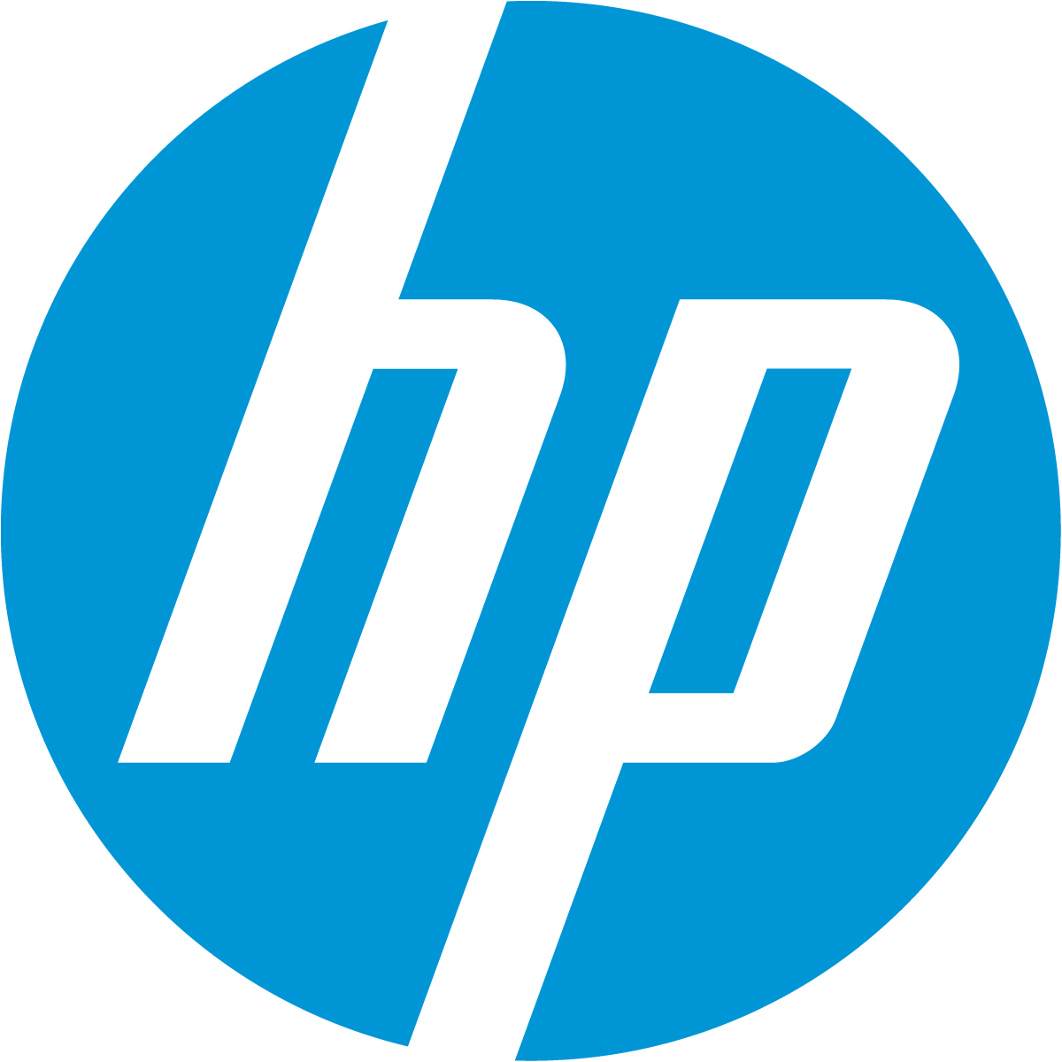 Hewlett-Packard (HP) 's logo